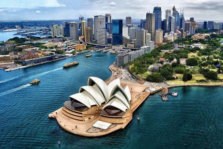 <strong>Австралия и Океания</strong>